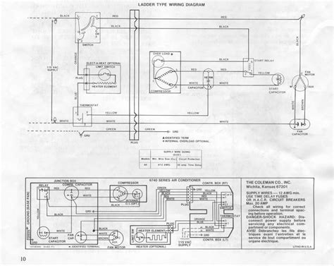 wiring diagram for rv air conditioner coleman mach air conditioner wiring diagram central air