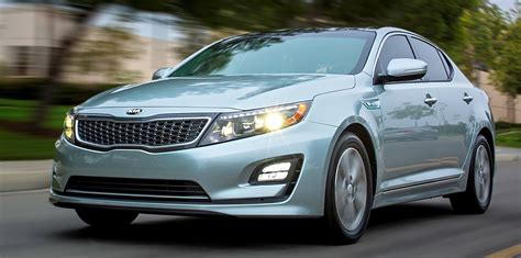 2014 Kia Optima Features by 2014 Kia Optima Hybrid Updated With New Grille Leds Front