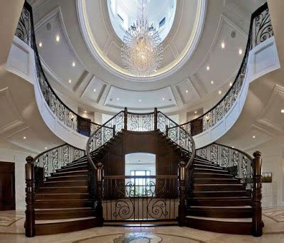 beautiful mansion spiral staircases home decor