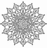 Kaleidoscope Pages Coloring Adults Getdrawings sketch template