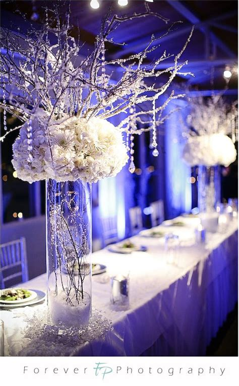 winter wonderland wedding centerpieces pictures wedding
