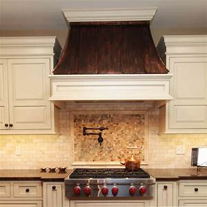 copper range hood traditional kitchen chicago by With copper kitchen hoods