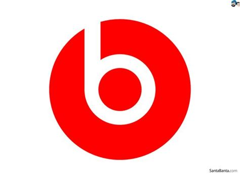 This Is The Beats Logo. I Think Its A Very Simple Logo But