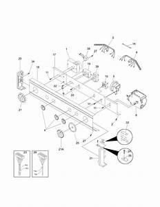 Frigidaire Fex831cs0 Laundry Center Parts