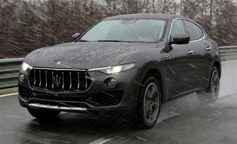maserati kubang black 2017 maserati levante suv first drive review car and