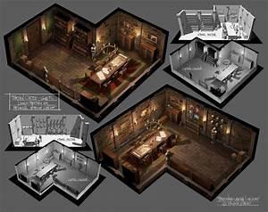Medieval, Interior, Meeting, Room