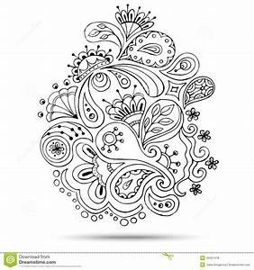 Henna Muster Schablone : henna paisley mehndi doodles design element stock vector image 45521478 ~ Frokenaadalensverden.com Haus und Dekorationen