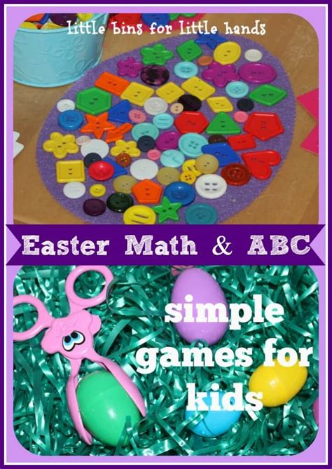 easter learning for letter recognition and math 936 | Easter Math and Alphabet Games 725x1024