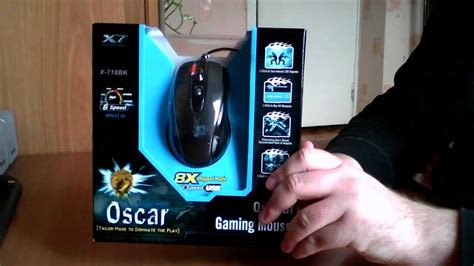 Unboxing Mouse A4tech Gaming Mouse X7 X 718bk Youtube