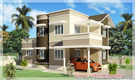 Duplex Kerala Style House At 1600 Sqft