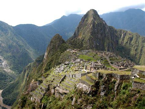 World Beautifull Places The Inca City Of Machu Picchu Peru