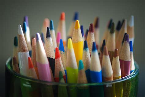 fourniture de bureau en anglais images gratuites couleur bleu crayon de couleur