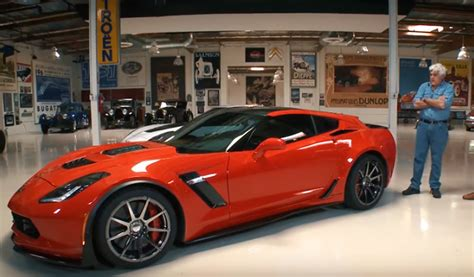 corvette based callaway aerowagon pays  visit  jay leno