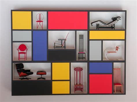 mondrian madness  furniture shoes home decor