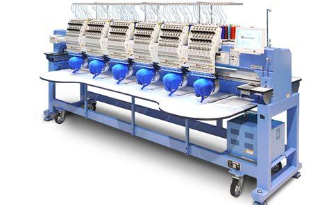 multi head machines happy multi needle embroidery machines