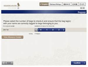 Singapore Airlines Official Website Book Flights From
