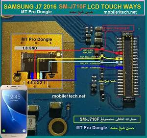 Samsung Galaxy J7 2016 J710f Touch Screen Not Working