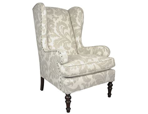 mitchell gold bob williams wing chair pair the