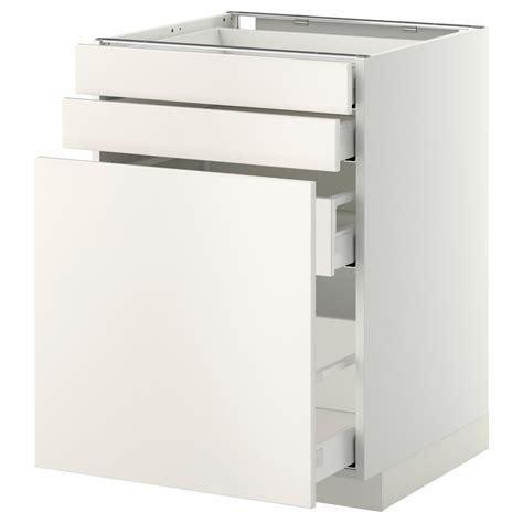 60x60 Ikea by Metod Maximera Mobile Cestelli Dispensa 2 Frontali