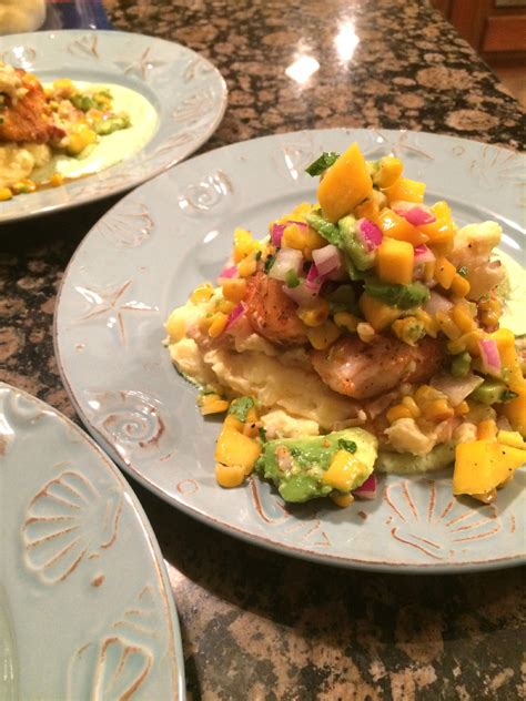 grouper catch salsa favorite wixsite potatoes blackened lobster seafood fresh