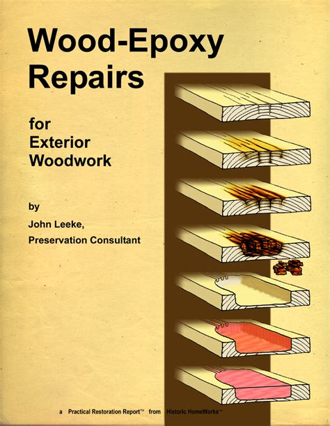 wood epoxy repairs  exterior woodwork abatron