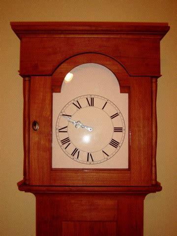 shaker tall clock finewoodworking