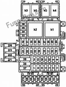 Fuse Box Diagram Smart Fortwo    Forfour  W453  2014