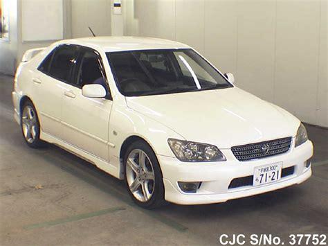 altezza car 2004 2004 toyota altezza pearl for sale stock no 37752