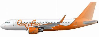 Osprey Airlines Airline A319 Empires