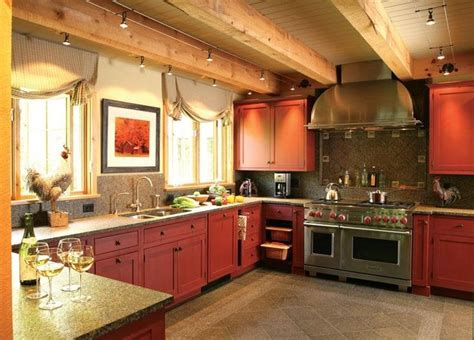cozy countryrustic kitchen  wendy johnson