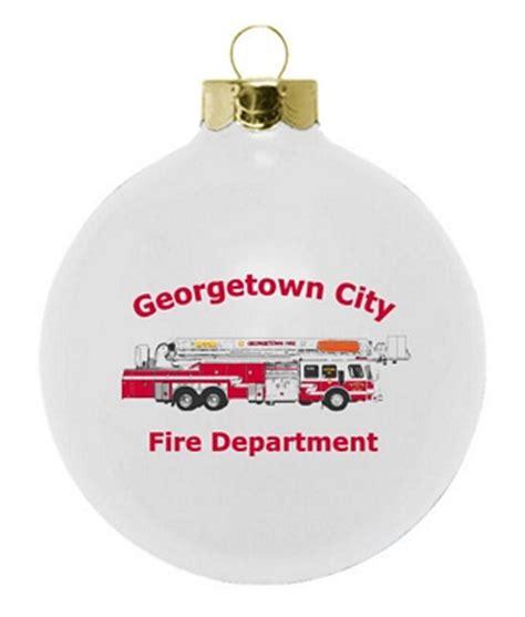 fire department fund raising ornament