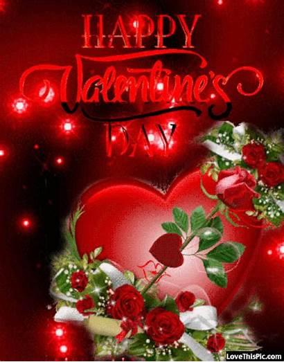 Valentine Happy Roses Hearts Quote Valentines Quotes