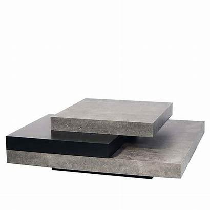 Coffee Table Tables Slate Concrete Modern Pure