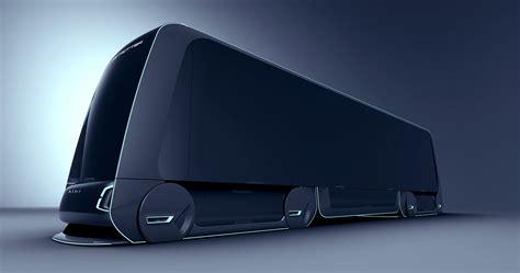 volvo autonomous carrier behance transportation truck design volvo y future concept cars