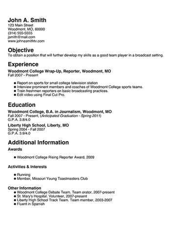resume template free resume format templates