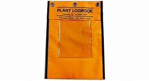Hospital Chart Binders Plant Logbook Pouch A4