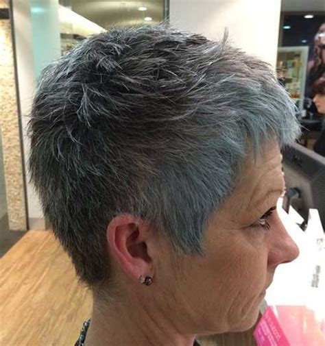 short haircuts  older women    short