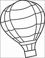 Balloon Coloring Air Printable Colouring Amazing Transportation Sheets Richs Richie Butler Getcolorings Colo Sky sketch template