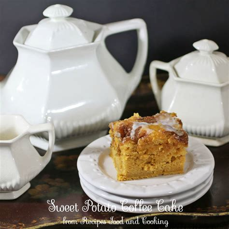 sweet potato coffee cake recipes food  cooking
