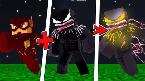 Minecraft Novo Mod Do Venom Flash Flash Symbiote