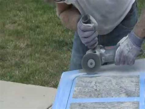 cut polish granite countertop diy undermount