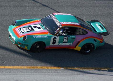 vaillant porsche mid 70s kremer valiant race car color pelican parts