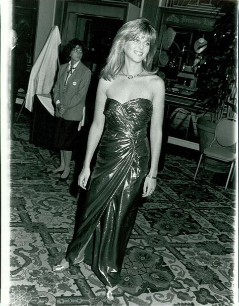 CA1 Sexy Low Cut Dress Actress Catherine Oxenberg Dynasty ...