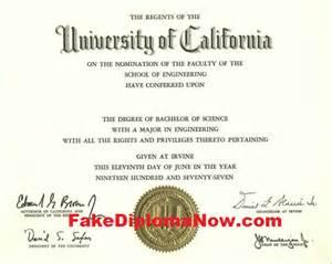 Fake College Diplomas Degree