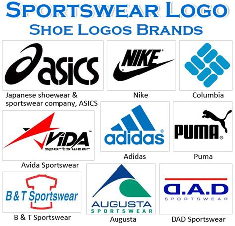 famous sportswear shoe logos brands home living styles
