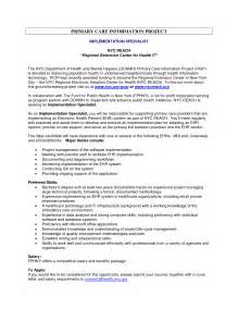 Project Management Resume Sles health information management resume exles resume ideas