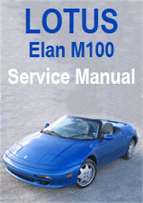 how to download repair manuals 1992 lotus elan free book repair manuals lotus elan m100 workshop repair manual