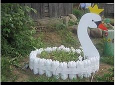 Creative Garden Craft Decoration from Recycled Waste