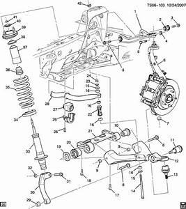 Front Suspension Diagram Chevy Trailblazer Trailblazer