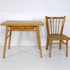 Bureau Enfant Vintage : baumann bureau enfant la marelle mobilier et d co vintage enfants ~ Teatrodelosmanantiales.com Idées de Décoration